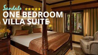 sandals ochi butler village honeymoon poolside one bedroom villa suite hv1