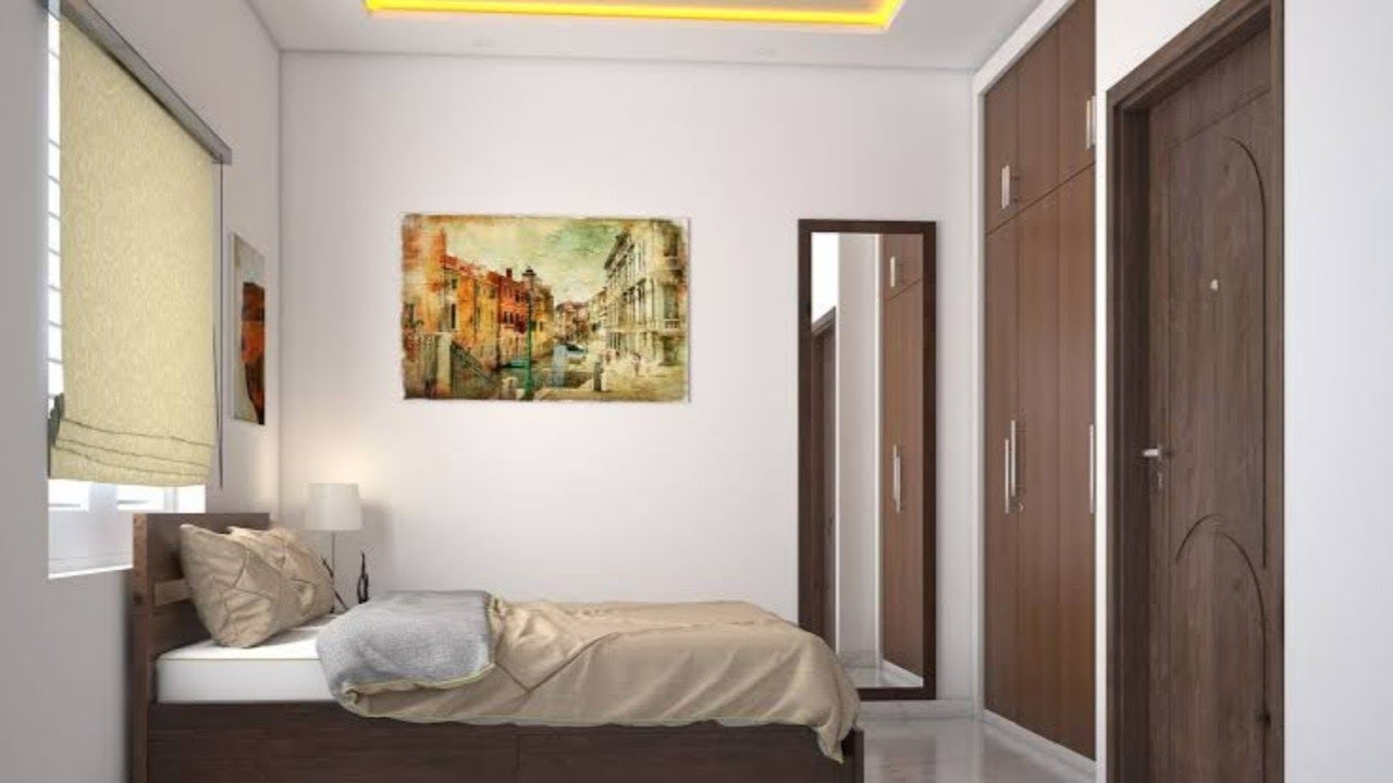 2 Bhk Flat Interior Design Walkthrought Interior Design