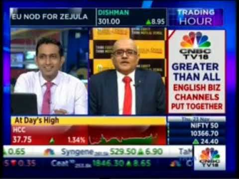 Mr. Sandeep J Shah - Private Wealth Management - on CNBC Trading Hour