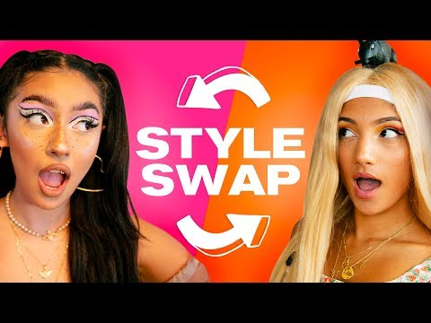 The ULTIMATE Style Swap Challenge! ~ NAYVA Ep #39 ~ FASHION & BEAUTY - Видео онлайн