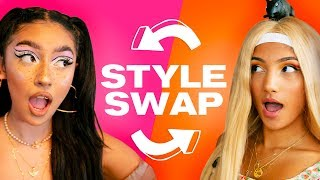 The ULTIMATE Style Swap Challenge! ~ NAYVA Ep #39 ~ FASHION & BEAUTY