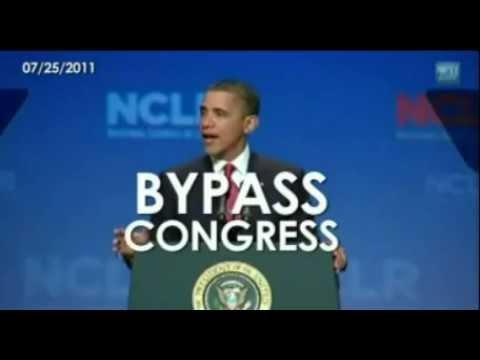 """Barack Obama """"Bypass Congress"""" Dictator? YOU DECIDE (Original)"""