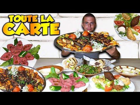 JE MANGE TOUTE LA CARTE D'UN DES MEILLEURS RESTOS LIBANAIS De PARIS !!