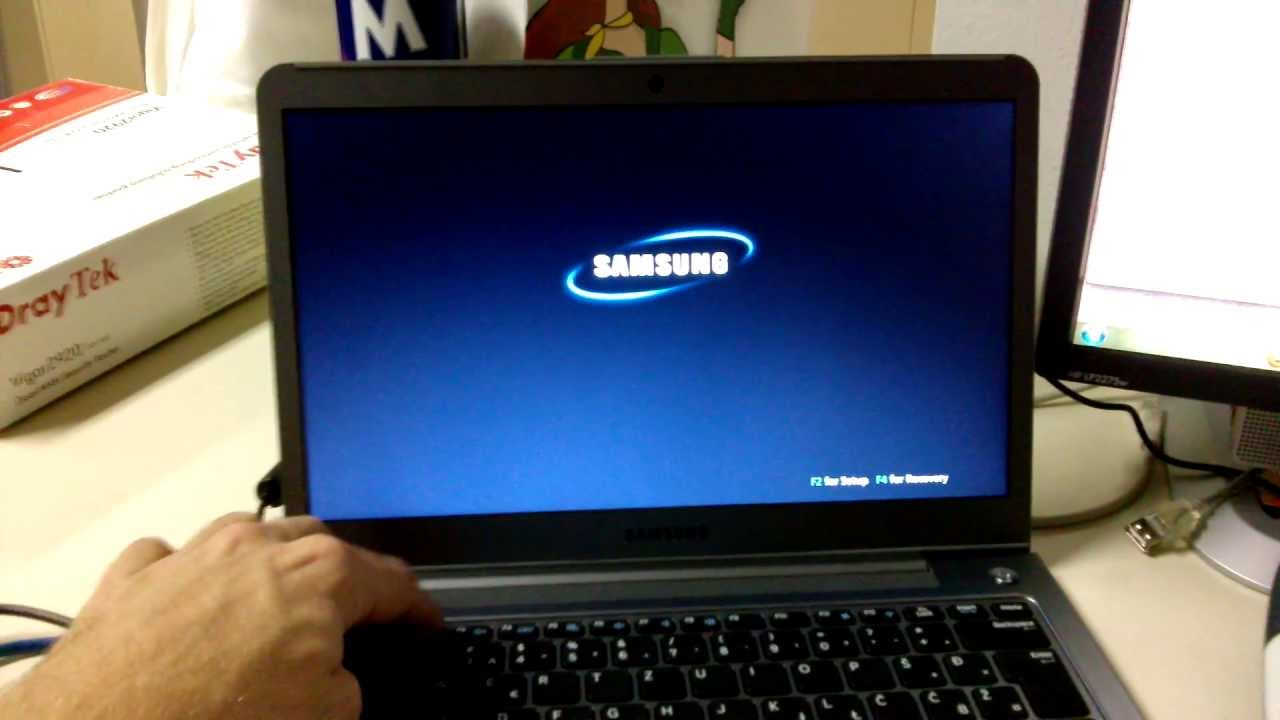 format samsung laptop windows 7