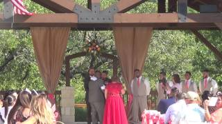 Part 1:  Mr and Mrs Garza, Boulder Springs performed by Pastor Richard Schweinsberg