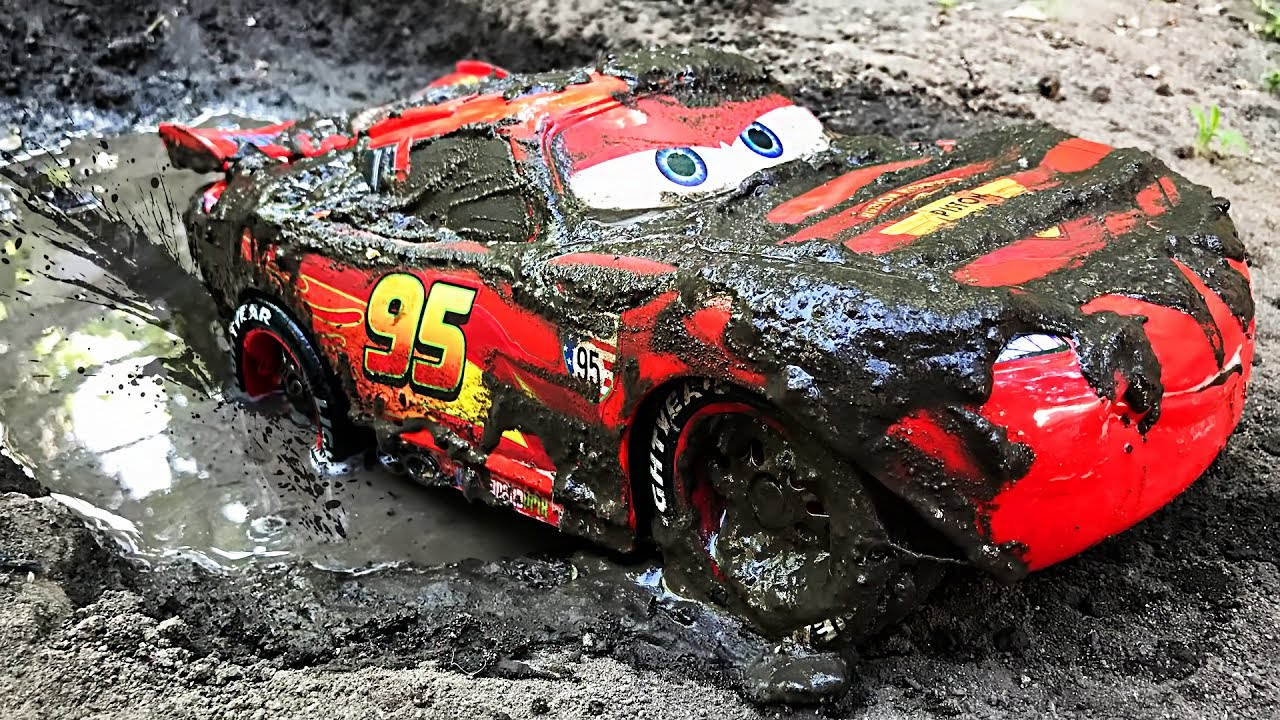 disney cars lightning mcqueen off road disney pixar cars 2 cartoons videos for children
