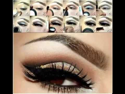 cute eye makeup ideas for brown eyes  youtube