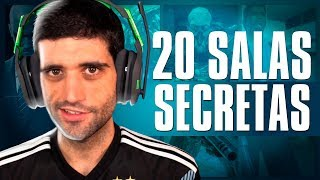 As salas SECRETAS mais LOUCAS dos VÍDEO GAMES