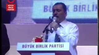Muhsin Yazıcıoğlu: Erdoğan asla Cumhurbaşkanı olamaz!