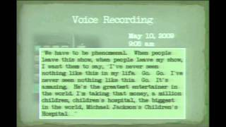 Michael Jackson under powerful sedatives Voice's ilegaly Recording Before his Death thumbnail