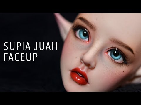 Faceup Painting Timelapse - Supia Juah