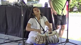 Tabla solo at India Independence Day in Cleveland