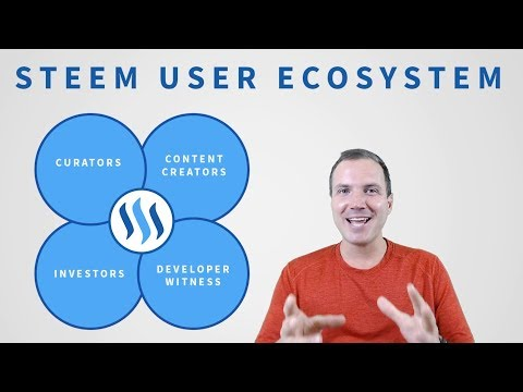 The Steem Ecosystem: 4 Very Important User Roles
