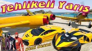 Uçak Motor Tekne ve Araba ile Süper Tehlikeli Yarış Joker Sunuyor