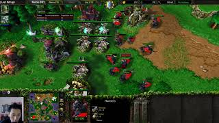 Moon (NE) vs Focus (Orc) - Recommended - WarCraft 3 - WC2356