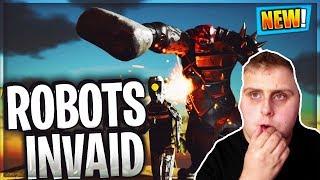 Fortnite Season 7 Leaked Hints Robot cyborg INVATION BATTLEPASS TIER 100 LEAKED