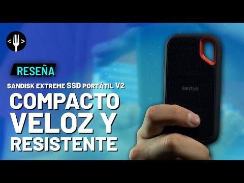 SanDisk Extreme SSD Portátil V2 , reseña en español | Compacto, Veloz y Resistente