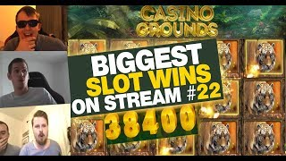 Biggest Slot wins on Stream – Week 22 / 2017