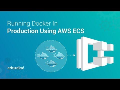 Amazon Elastic Container Service (ECS) Tutorial | Running Docker On AWS ECS | Edureka