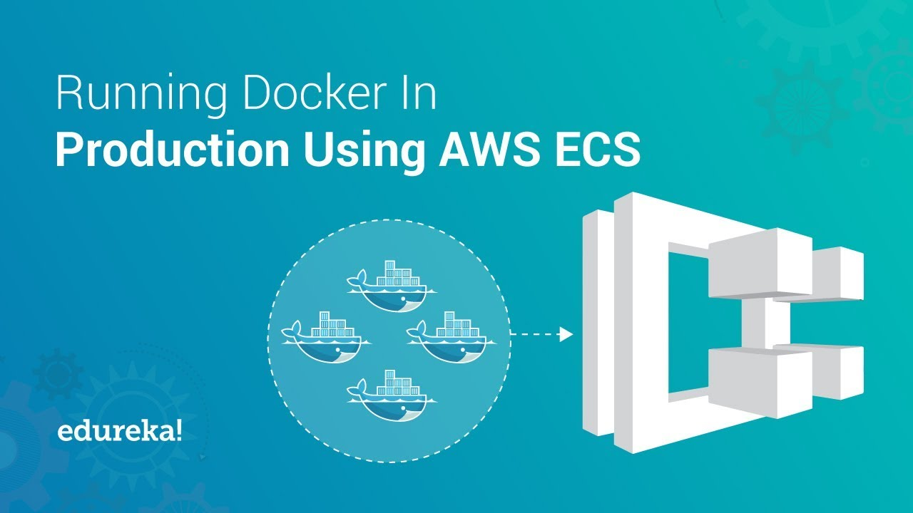 Amazon Elastic Container Service (ECS) Tutorial | Running Docker On AWS ECS | Edureka