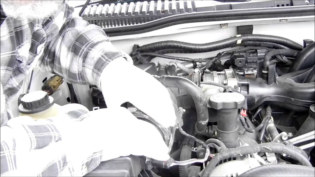 2005 Ford Explorer Rough Idle Code P0190 Youtube Fuel Filter Replacement