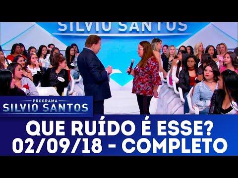 Que som é este? | Programa Silvio Santos (02/09/18)
