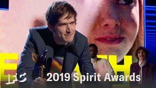 Comedian Bo Burnham Wins Best First Screenplay for 'Eighth Grade'   2019 Spirit Awards