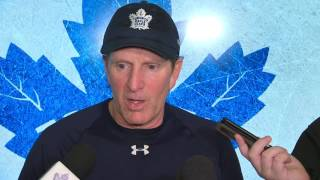 Babcock: Pumped for excitement surrounding Leafs, but still work to do