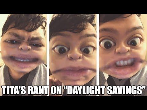 TITA'S RANT ON DAYLIGHT SAVINGS