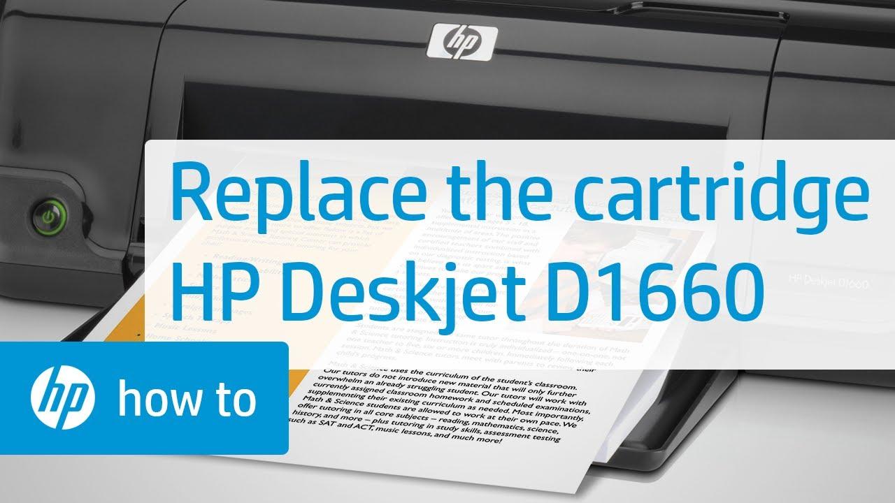 Драйвера принтер hp d1663