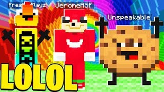 MINECRAFT TRY NOT TO LAUGH CHALLENGE WITH PRESTONPLAYZ, UNSPEAKABLE & MOOSE!