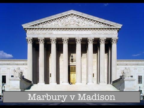 Marbury v Madison - Judicial Review Explained!