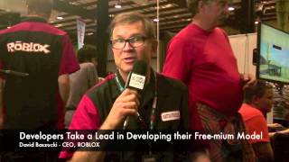 Interview with ROBLOX CEO David Baszucki at 2014 Maker Faire