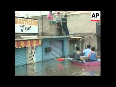 MEXICO: FLOODING