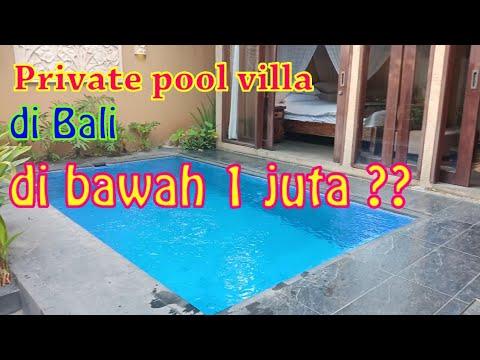 Villa dengan private pool di bali , bagus harga murah