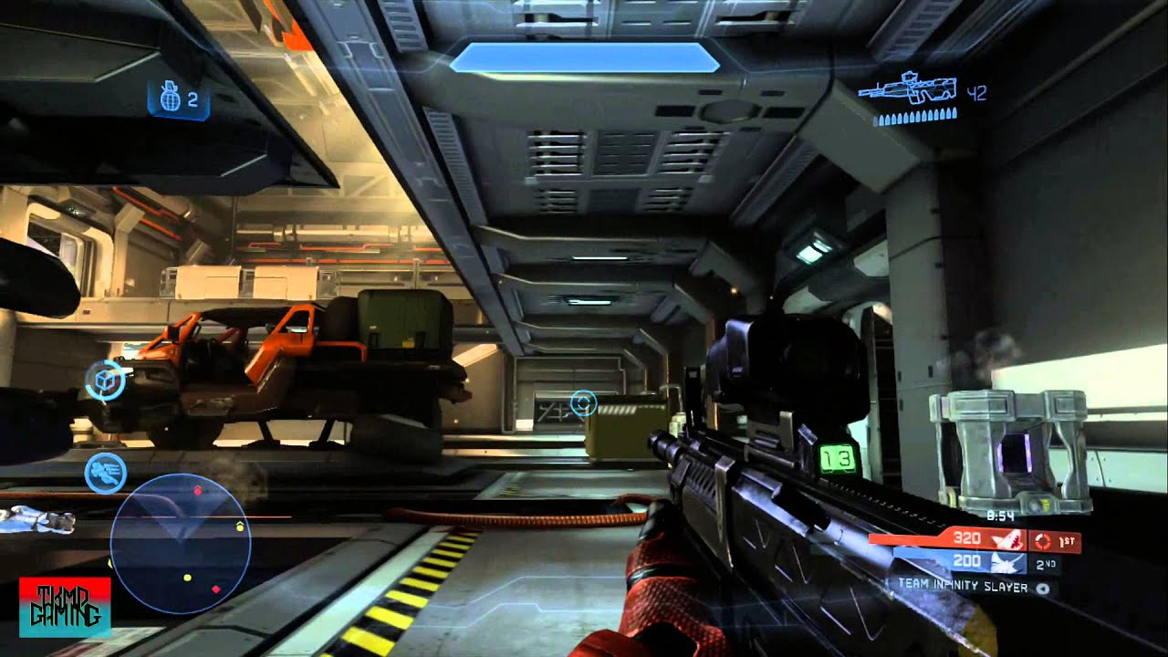 Halo 4 Majestic Map Pack Gameplay Landfall New Map Pack Gameplay