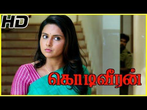 Sasikumar searches groom for his sister   Kodiveeran Scenes   Sasikumar awestruck on seeing Mahima