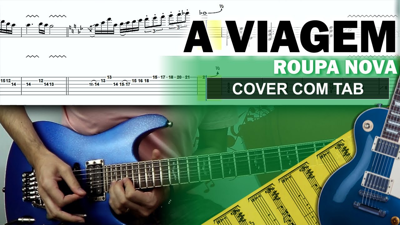 COVER & TAB: A Viagem (Guitarra Cover com Tablatura Completa)