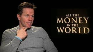 Mark Wahlberg on Reshooting  ALL THE MONEY IN THE WORLD Due to Kevin Spacey Scandal