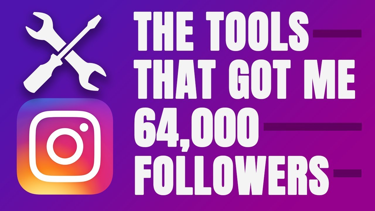 THE TOP 10 TOOLS I USE TO GROW ON INSTAGRAM