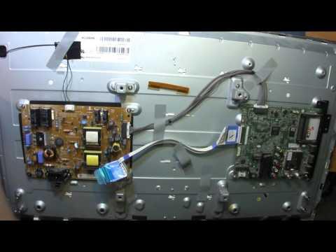 видео: Ремонт телевизора lg 32lb563u. Нет подсветки. Разбор и диагностика.