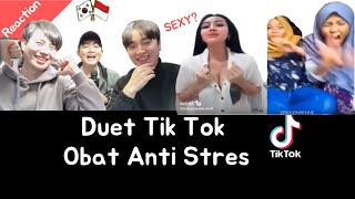 [Reaksi] TIk Tok - Obat Anti Stres / Orang Korea