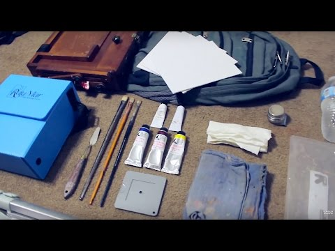 Plein Air Supplies | Tips for Simplifying