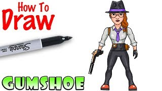 How to Draw Gumshoe | Fortnite