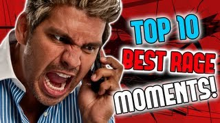 TOP 10 RAGE MOMENTS IN PRANK CALLS