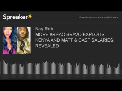 MORE #RHOA☕ Bravo EXPLOITS KENYA MOORE & Matt Jordan ABUSE and Cast SALARIES REVEALED