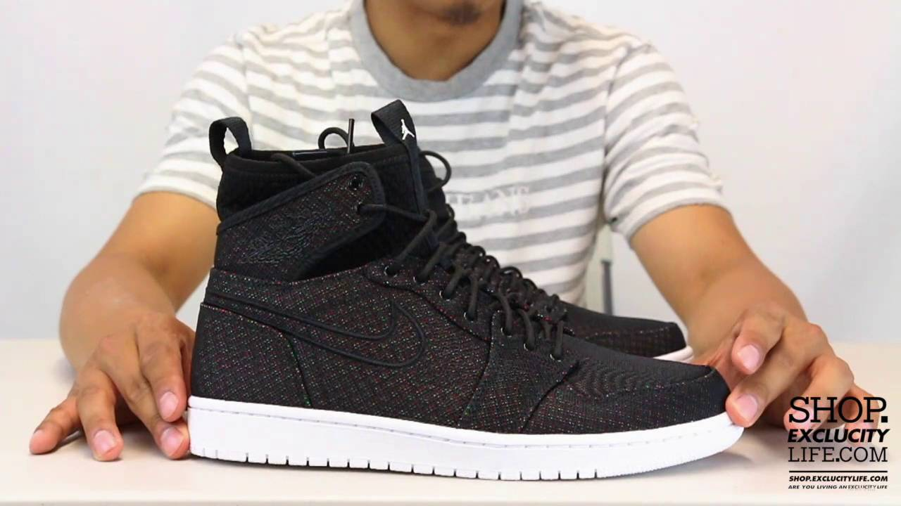 classic fit 41c1d 8cc5c Air Jordan 1 Ultra High Retro Black - Infrared 23 Unboxing Video at  Exclucity - YouTube