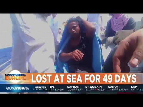 Lost At Sea For 49 Days