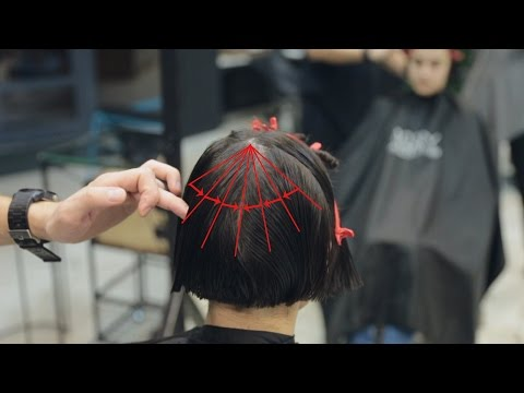 How to Cut Bob With Accents