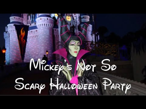 Disneyworld Exclusive Front Row Halloween Party Parade 2017 | Orlando